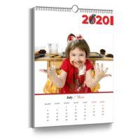 Календари перекидные настенные вертикальные