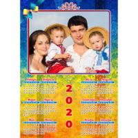 Календари-постеры вертикальные